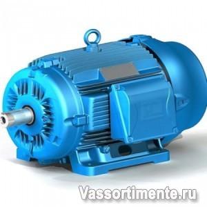 Электродвигатель АИР 71В6 0,55 кВт, 1000 об/мин